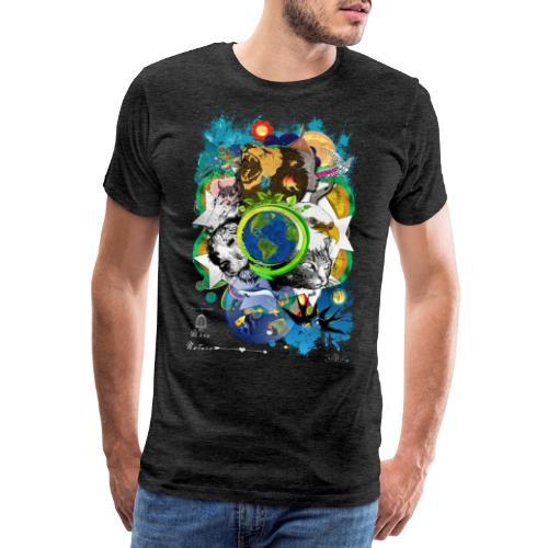 Terre Mère Nature -by- T-shirt chic et choc - T-shirt Premium Homme