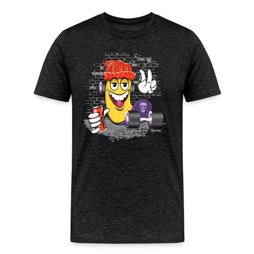 Cool Street Skater Textiles, Gifts, Products - Miesten premium t-paita