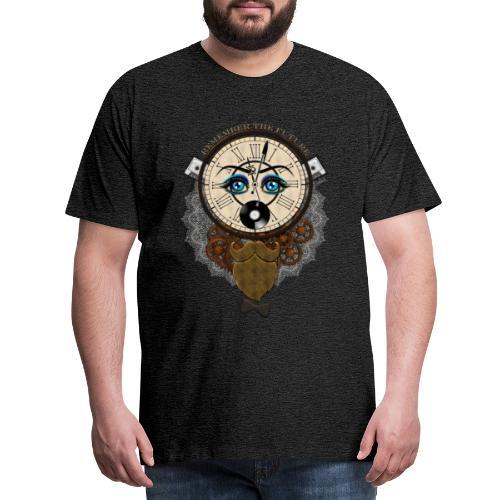 Remember the future : souviens-toi du futur - Or - T-shirt Premium Homme
