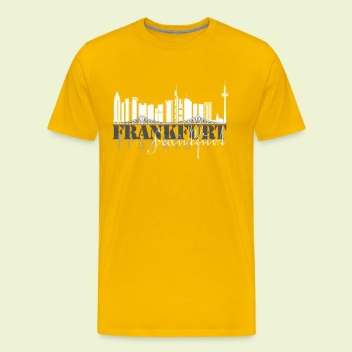 FFM - Frankfurt Skyline - Männer Premium T-Shirt