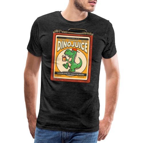 Dinojuice gas canister - Miesten premium t-paita