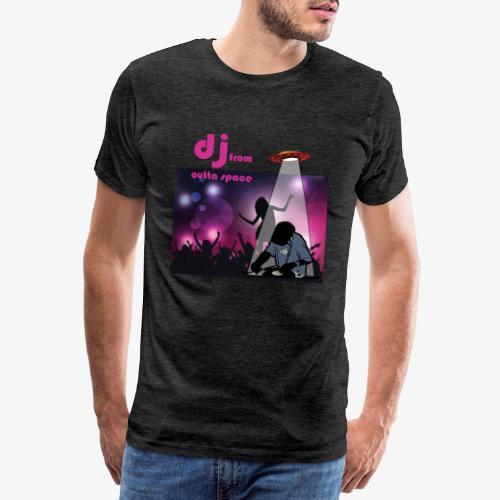 deejay from outer space - Männer Premium T-Shirt