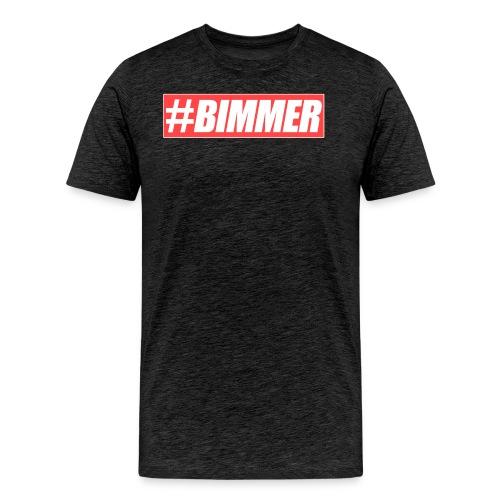Bimmer Red Brand PNG png - Männer Premium T-Shirt