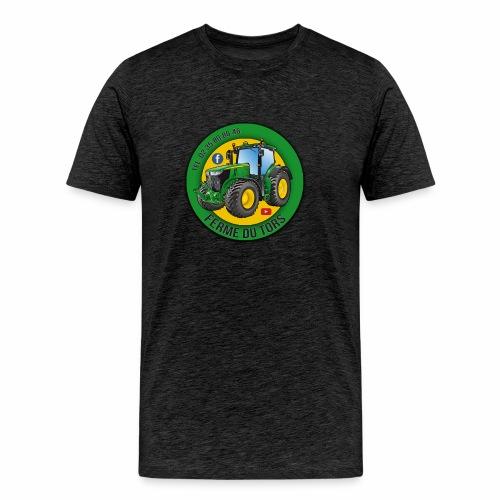 Logo de la Ferme - T-shirt Premium Homme