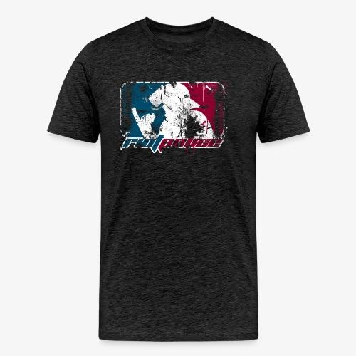 riotpolice_grunge - Männer Premium T-Shirt