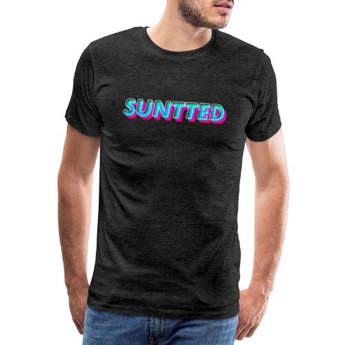 Suntted Typo Modern - T-shirt Premium Homme