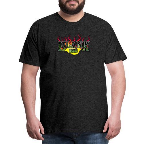 Blank 78 - Premium-T-shirt herr