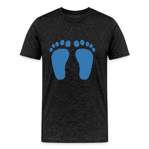 Blaue Füße - Männer Premium T-Shirt
