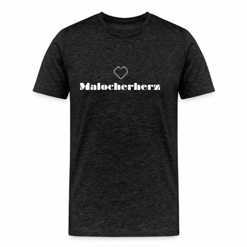 Malocherherz - Männer Premium T-Shirt