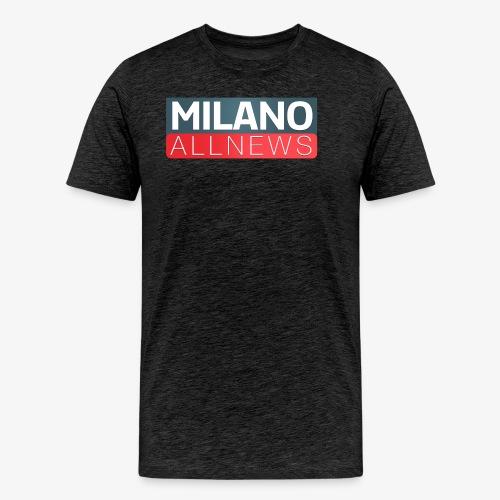 Milano AllNews Logo - Maglietta Premium da uomo