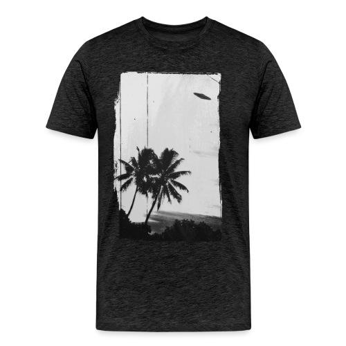 ALIEN ON VACATION - Männer Premium T-Shirt