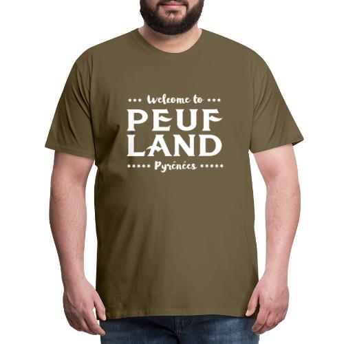 Peuf Land Pyrénées - White - T-shirt Premium Homme