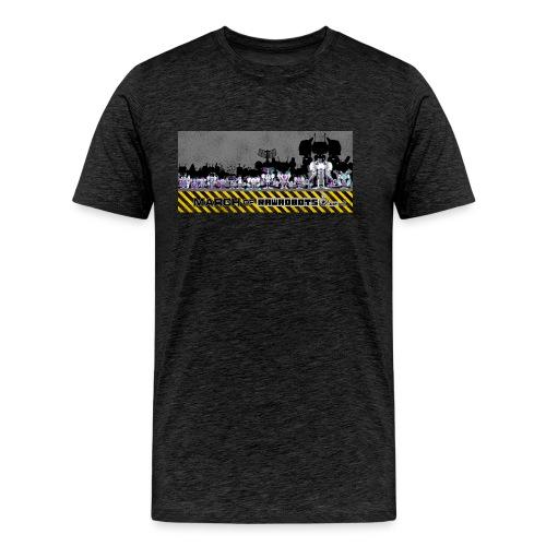 #MarchOfRobots ! LineUp Nr 2 - Herre premium T-shirt