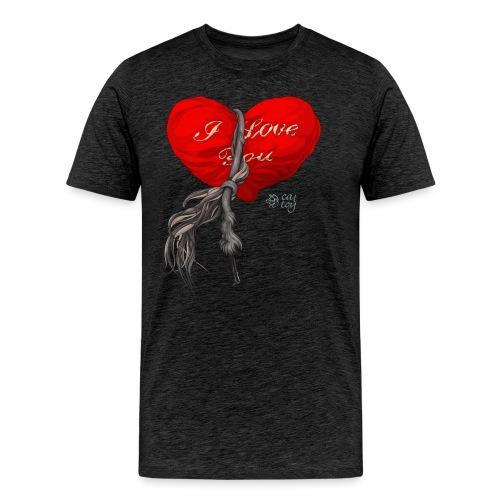 Heart - Koszulka męska Premium