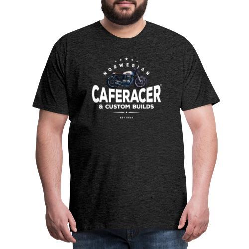 Caferacer Pablo - Premium T-skjorte for menn