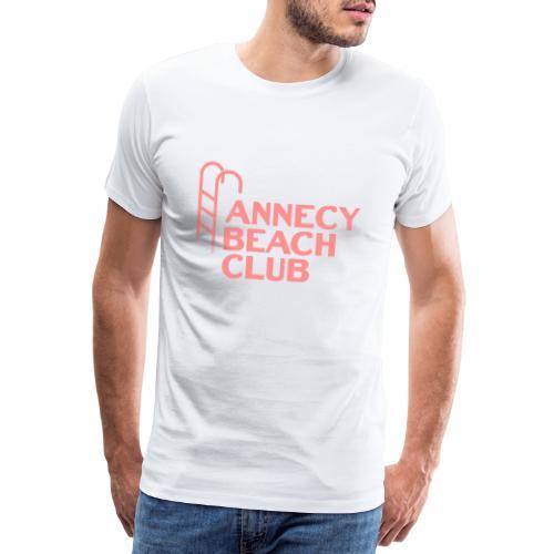 Annecy beach club - natation - T-shirt Premium Homme