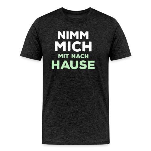 MitNachHause png - Männer Premium T-Shirt