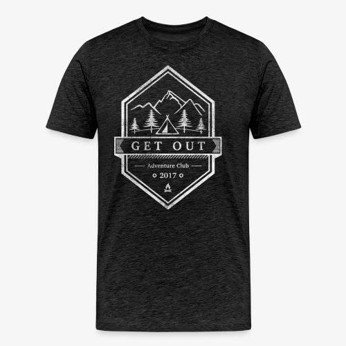 WappenWhiteVintage - Männer Premium T-Shirt