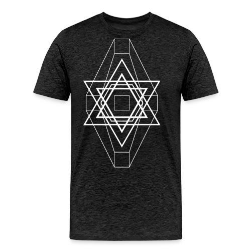 Star white - Camiseta premium hombre