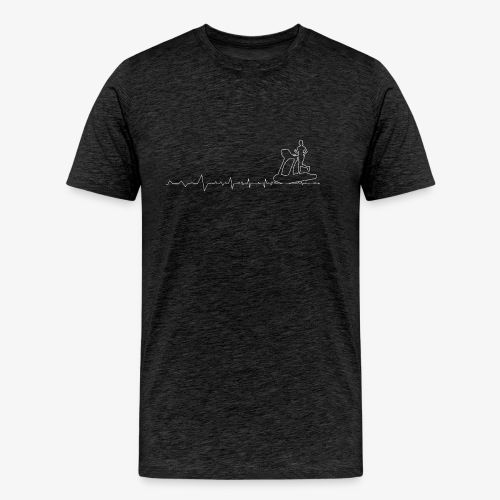 Heartbeat Fitness - Men's Premium T-Shirt