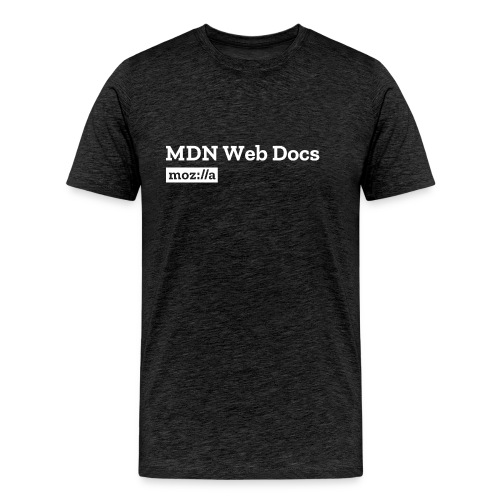 MDN Web Docs Logo - Men's Premium T-Shirt