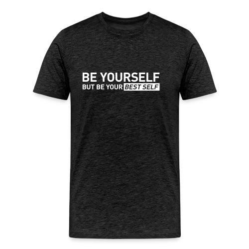 YOUR BEST SELF – Gym traing t-shirt - Men's Premium T-Shirt