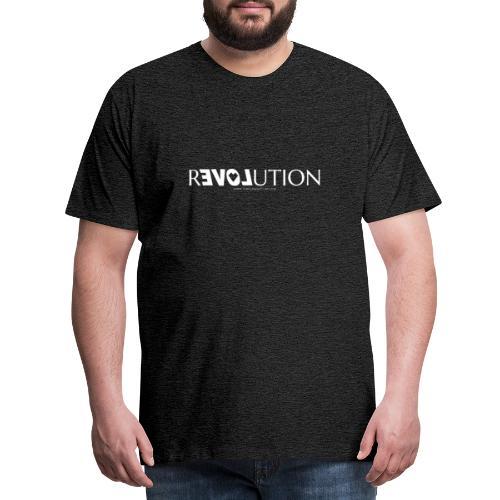 ReLOVEution Shirt – weiß - Männer Premium T-Shirt