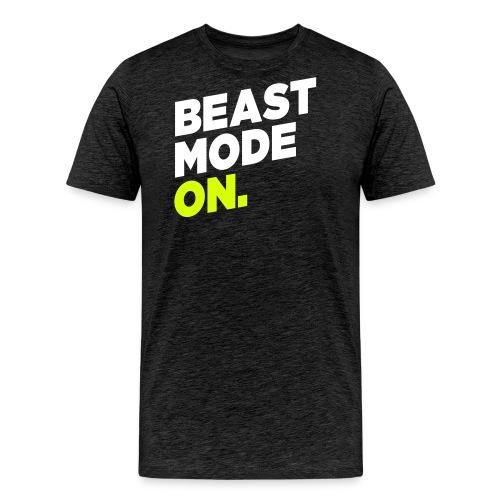 beast mode on – Geschenkidee für Sportler - Männer Premium T-Shirt