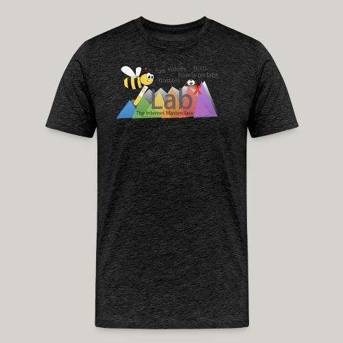 iLabX - The Internet Masterclass - Men's Premium T-Shirt