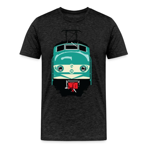 Hondekop 386 3 kleuren - Mannen Premium T-shirt
