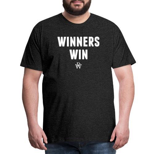 Winners win - Men's Premium T-Shirt