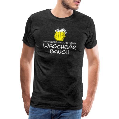 Waschbaerbauch, - Männer Premium T-Shirt
