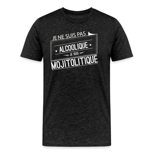 Tee Shirt Femme Violet Col Rond - je suis mojitoli - T-shirt Premium Homme