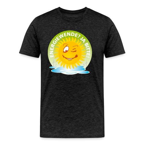 Energiewende Ja bitte - Männer Premium T-Shirt