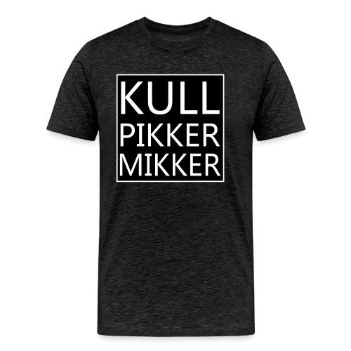 Kullpikker mikker groot s - Mannen Premium T-shirt
