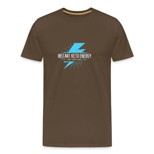 KETONES - Instant Energy Tasse - Männer Premium T-Shirt