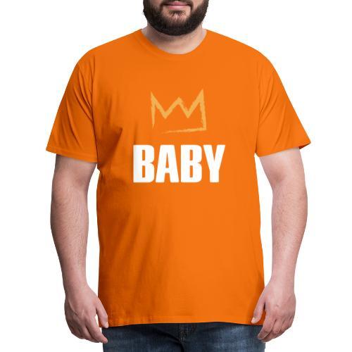 Baby mit Krone - Männer Premium T-Shirt
