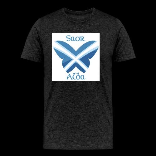 Saor Alba butterfly - Men's Premium T-Shirt