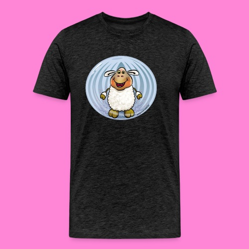 Halloween-sheep - Mannen Premium T-shirt