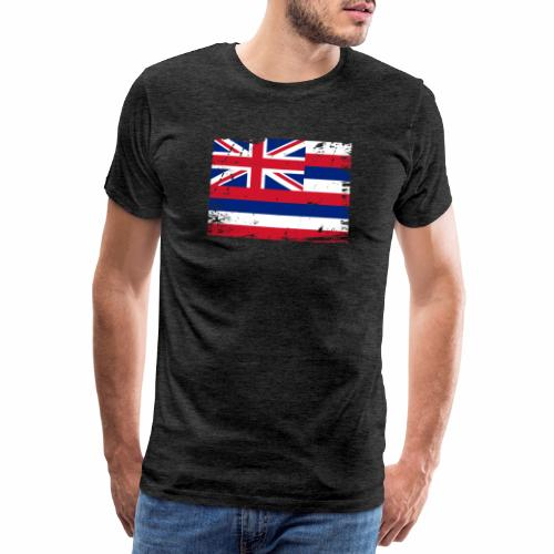 Hawaii flag textiles, Gifts and products for you - Miesten premium t-paita
