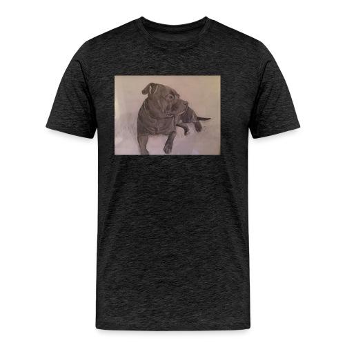 My dog - Premium-T-shirt herr