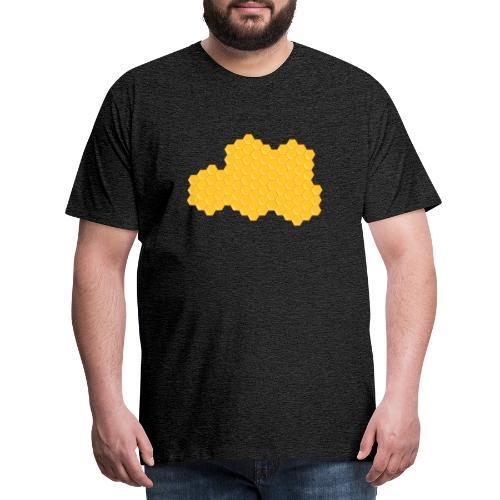 Bienenwabe - Männer Premium T-Shirt