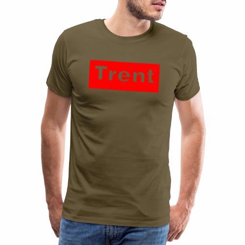 TRENT classic red block - Men's Premium T-Shirt