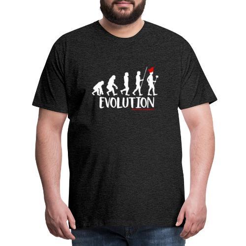 Die Evolution - Männer Premium T-Shirt