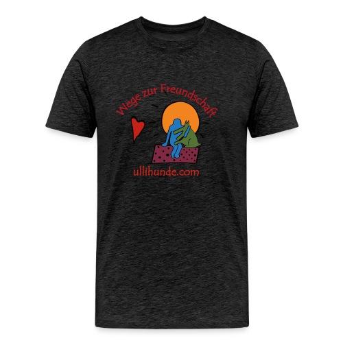 Ullihunde - Wege zur Freundschaft - Männer Premium T-Shirt