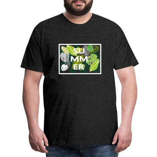 Summer - Sommer - Männer Premium T-Shirt