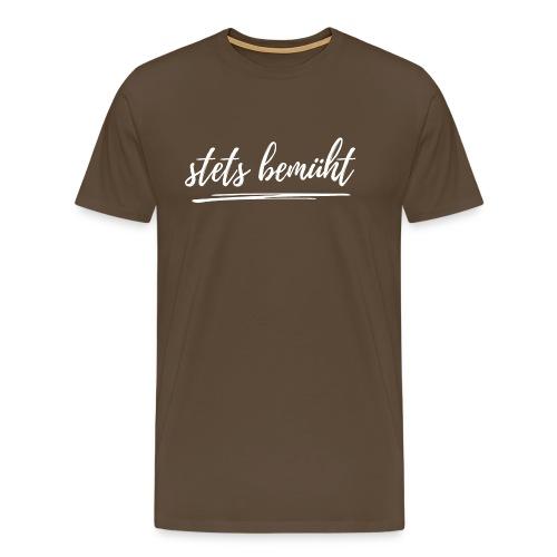 stets bemüht - lustiger Spruch - Funshirt - Urlaub - Männer Premium T-Shirt