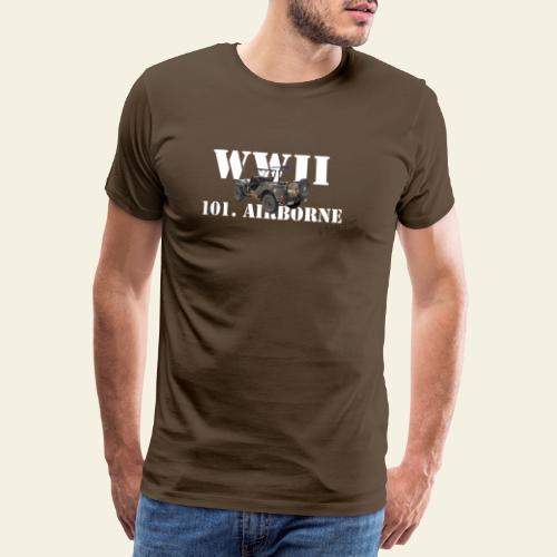 101 airborne png - Herre premium T-shirt
