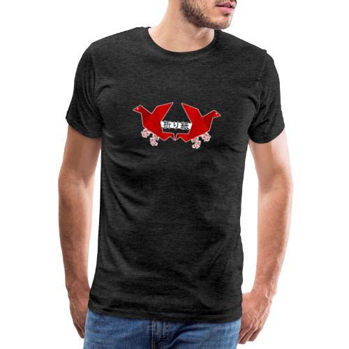 Oiseaux Origami - T-shirt Premium Homme