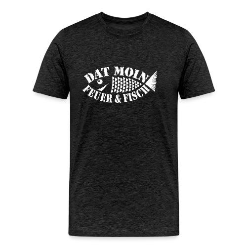 Dat Moin - Feuer & Fisch - Männer Premium T-Shirt